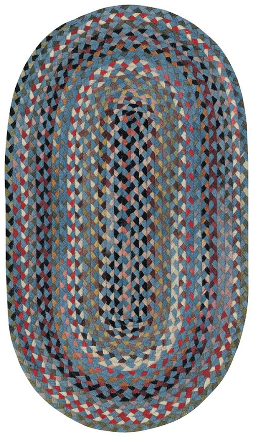 Medium Blue St Johnsbury Rug by Capel