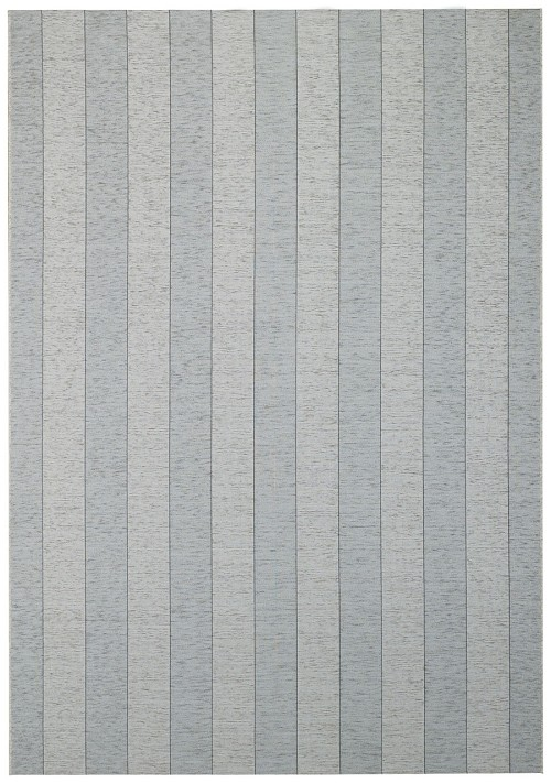 Capel Walkover Stripe 6952 300 Peppery Rug