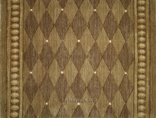 Metropolis ME04 Cocoa Carpet Stair Runner