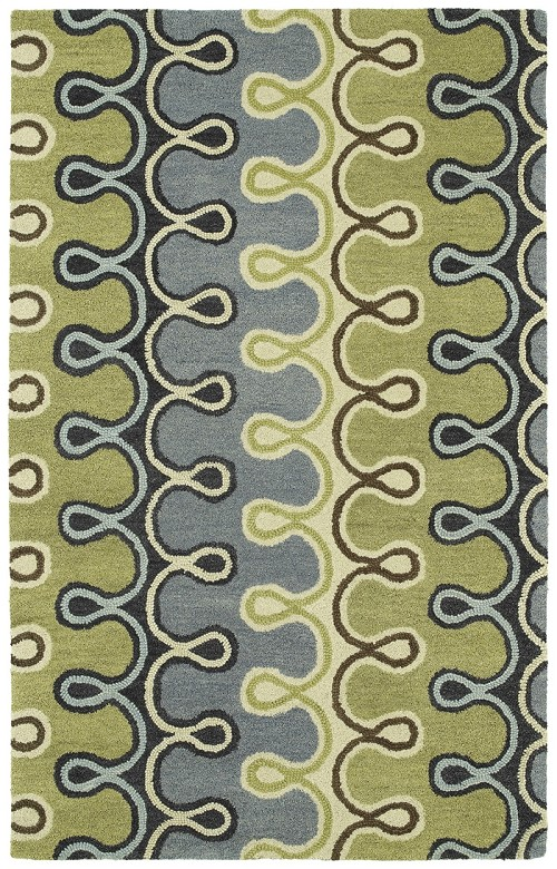 Casual 5056 17 Axel Blue Rug by Kaleen