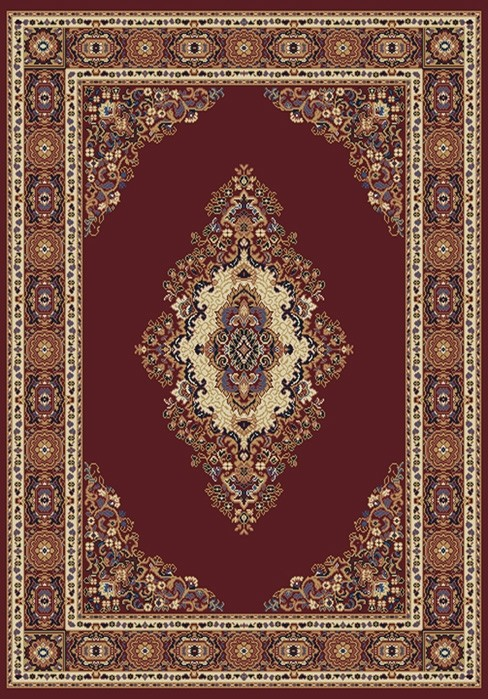 Cathedral Burgundy 040 35334 Manhattan Rug by United Weavers