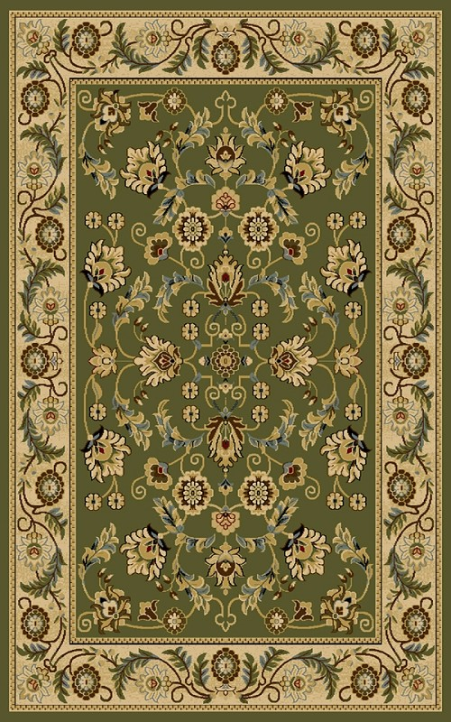 Cambridge 8805Gr Green Rug By Interlude