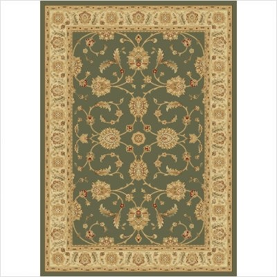 Radiance Collection by Central Oriental: Adelaide 2059Gr Green Rug By Radiance