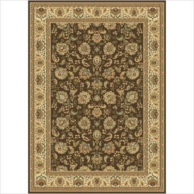 Radiance Collection by Central Oriental: Regency 2042Bw Brown Rug By Radiance