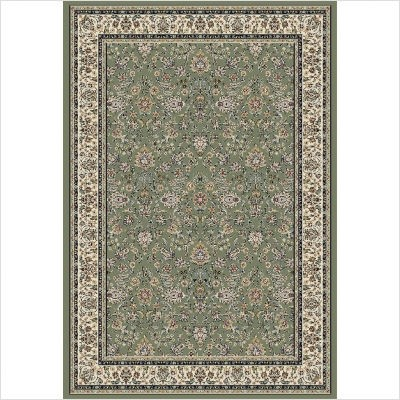 Royal Collection from Central Oriental: Emperor 4611.31 Green Rug By Royal