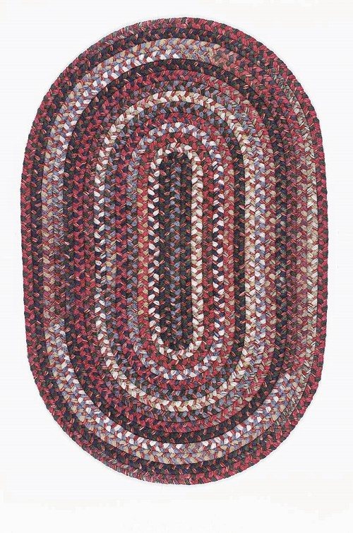 Chestnut Knoll Collection by Colonial Mills: CK-77 Amber Red Chestnut Knoll Rug by Colonial Mills