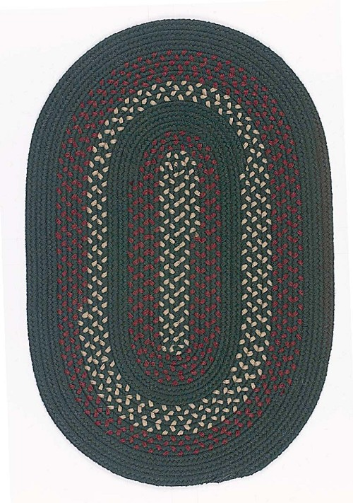 Deerfield Collection by Colonial Mills: DF-61 Hunter Green Deerfield Rug by Colonial Mills
