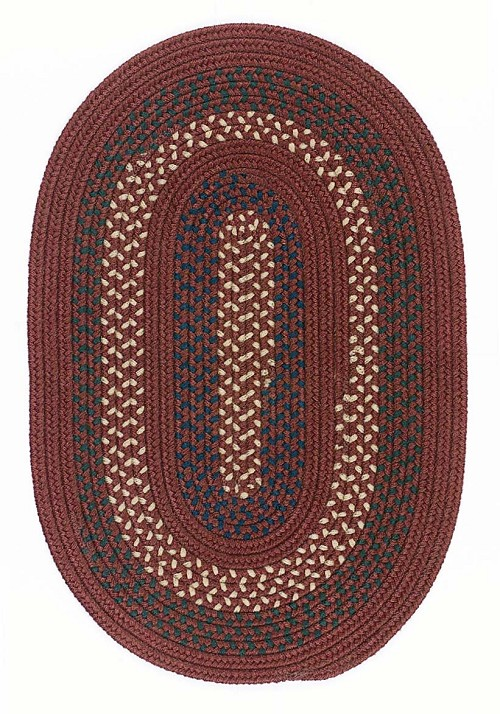 Deerfield Collection by Colonial Mills: DF-81 Deep Russet Deerfield Rug by Colonial Mills