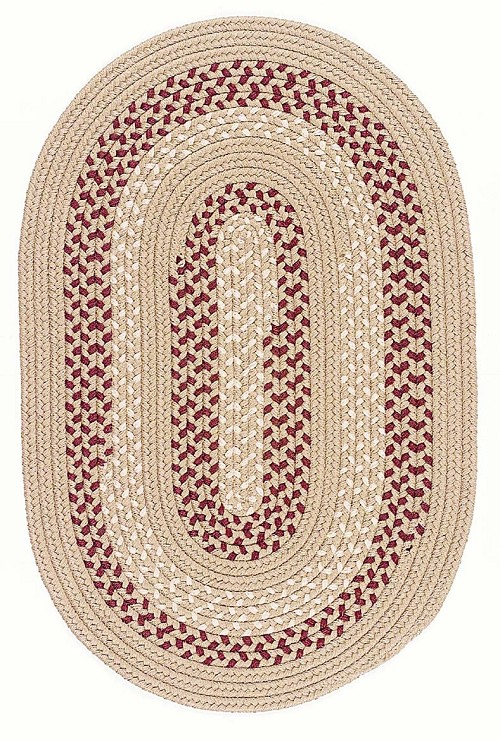 Deerfield Collection by Colonial Mills: DF-91 Taupe Deerfield Rug by Colonial Mills