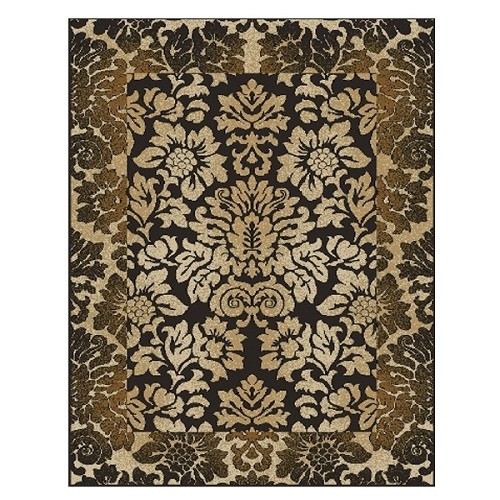Como 1717 Chocolate Rug by Radici