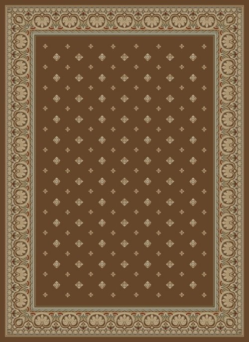 Concord Ankara 6308 Pin Dot Brown Area Rug