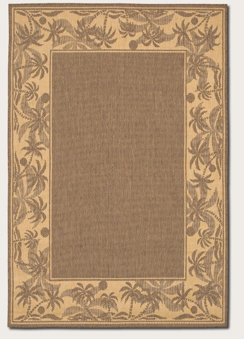 Recife Collection by Couristan: Island Retreat Beige Natural 1222/0722 Recife Outdoor Rug by Couristan