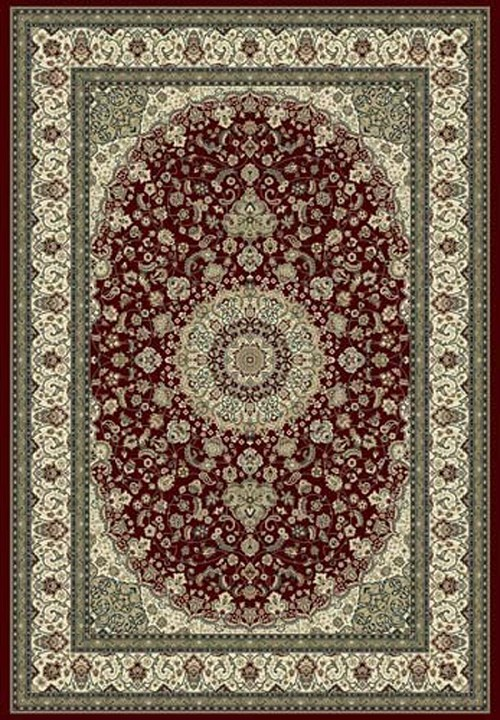 Dynamic Ancient Garden 57119 1414 Red Ivory Area Rug
