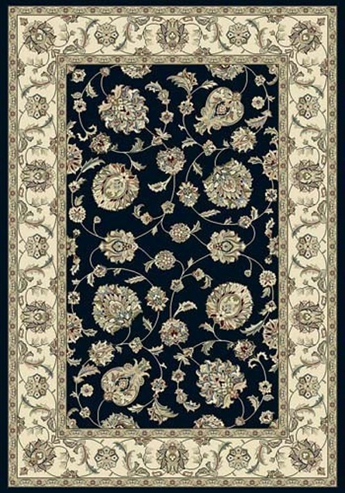 Dynamic Ancient Garden 57365 3464 Blue Ivory Area Rug