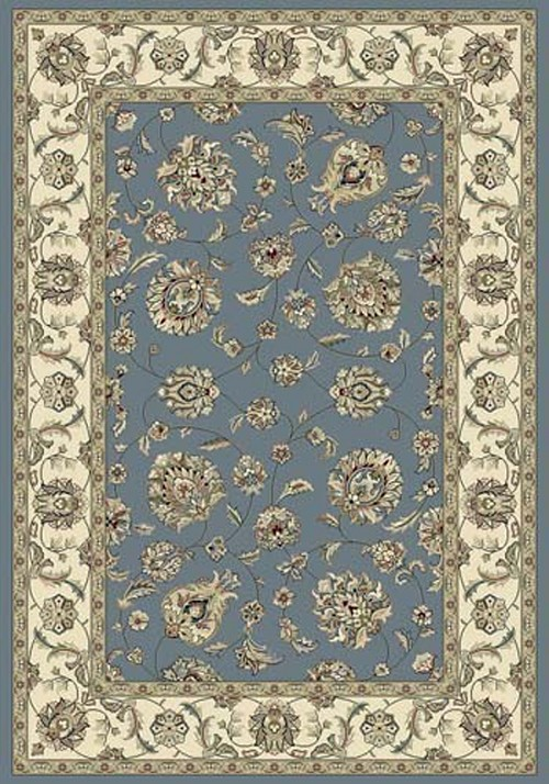 Dynamic Ancient Garden 57365 5464 Light Blue Ivory Area Rug