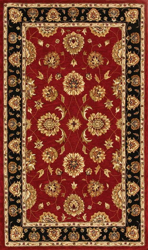 Red Black 70230 339 Jewel Rug By Dynamic