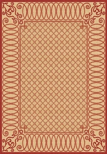Beige 2587 3701 Piazza Outdoor Rug By Dynamic