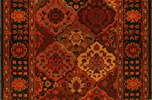 Everest Antique Baktiari 3721/4876a Midnight Carpet Stair Runner