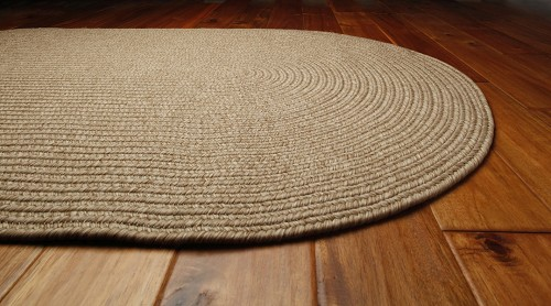 Homespice Out-Durable Sand Outdoor Rug