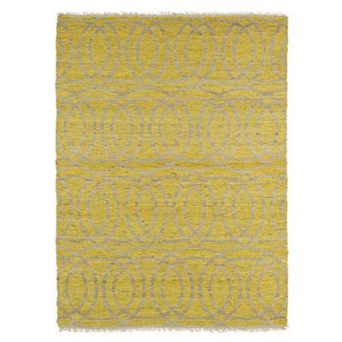 Kaleen Kenwood KEN03 28 Yellow Area Rug