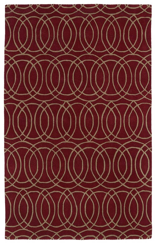 Kaleen Revolution REV02 25 Red Rug