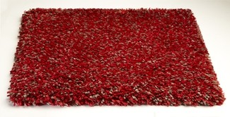 Bliss 1584 Red Heather Rug by Kas
