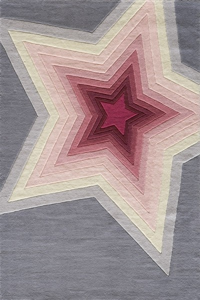 Lil Mo Hipster LMT-07 Superstar Rug by Momeni