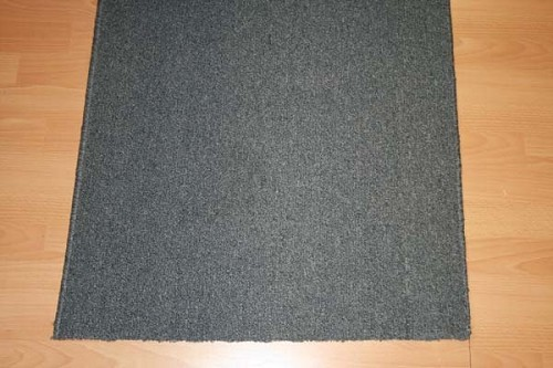 Pure Denim - 26 Inch Wide Rubber Backed Finished Runner -  Price is Per Foot