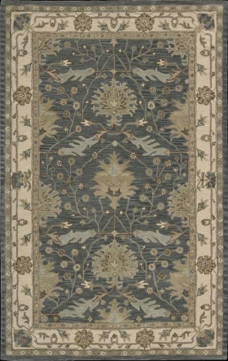 India House Ih75 Blue Rug By Nourison
