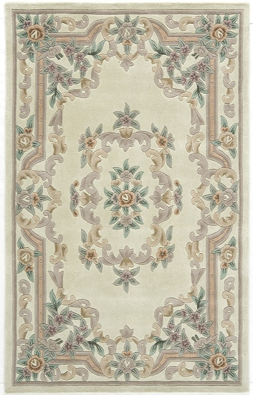 Rugs America New Aubusson 510 201 Ivory