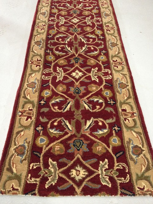 Sanctuary Burgundy Runner - 27 Inch wide _ Price Per Foot