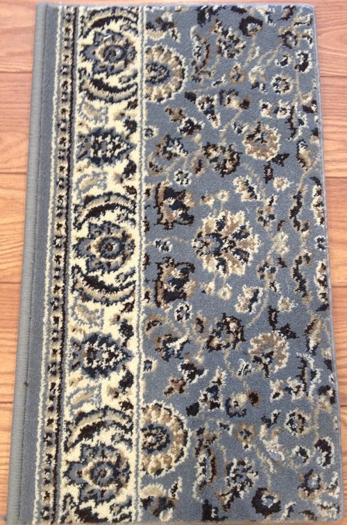 Alba 1767 Grey Blue Carpet Hallway And Stair Runner 26