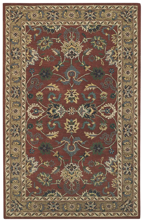 Capel Kingship 3031 875 Rust Light Brown Rug