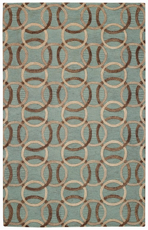 Ringlets Charcoal Desert Plateau Rug by Capel