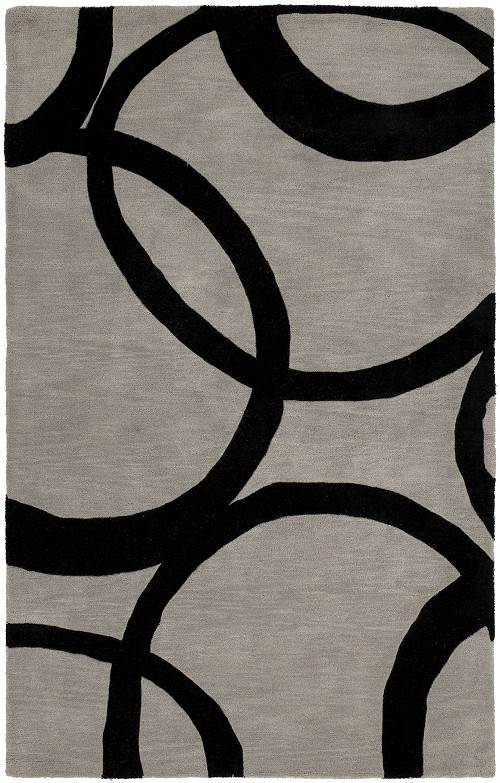 Astronomy 3401 Gamma Graphite 68 Rug by Kaleen