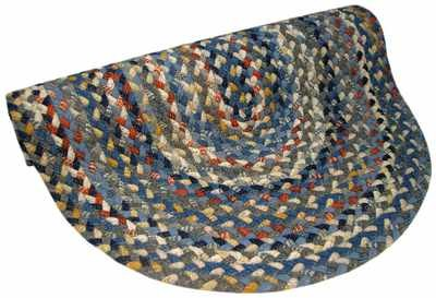 Thorndike Mills Beacon Hill 1887 33 Blue Rug