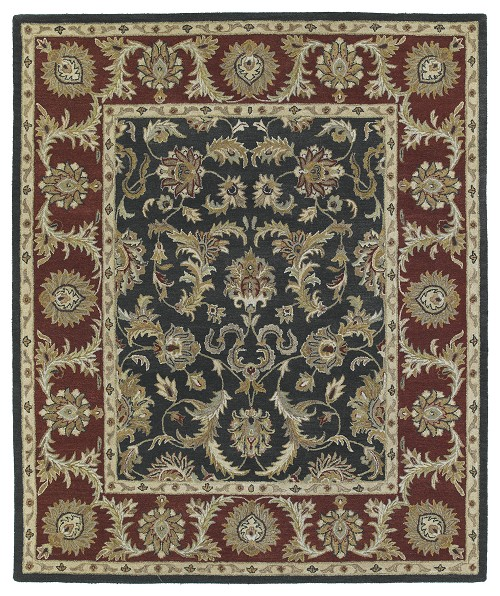 Kaleen Solomon King David 4052 68 Graphite Rug