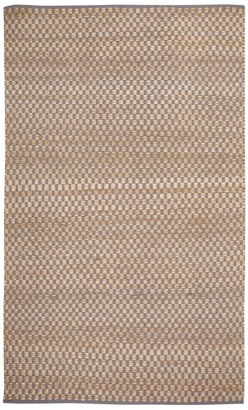 Capel Checkered 6507 300 Silver Rug