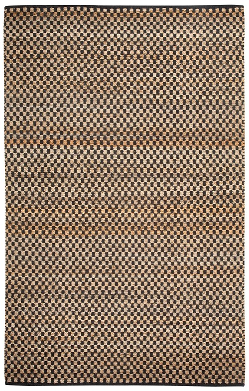 Capel Checkered 6507 350 Ebony Rug