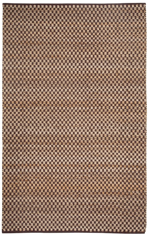 Capel Checkered 6507 725 Cocoa Rug