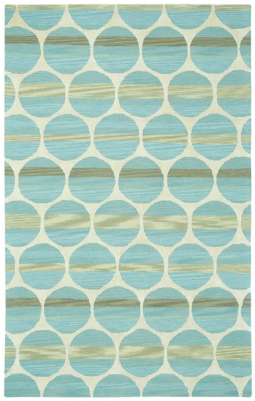 Capel Bucine 9196 400 Blue Light Beige Rug