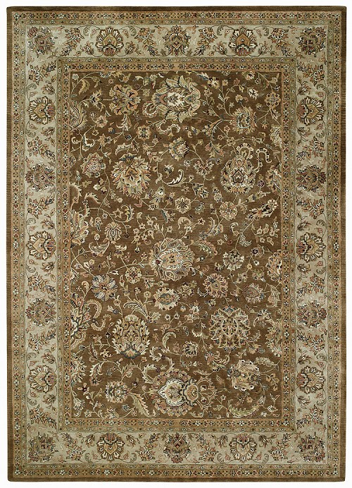 Peshawar Chocolate Brown Forest Park Rug by Capel