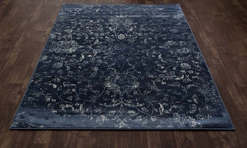 Allure Ethereal Steel Blue Rug