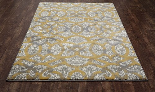 Regency Trellis Yellow Rug