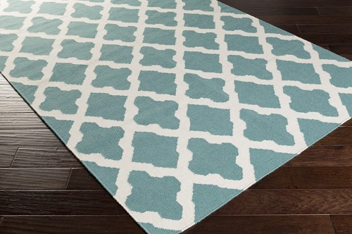 Artistic Weavers York Olivia AWHD1006 Teal/White Area Rug