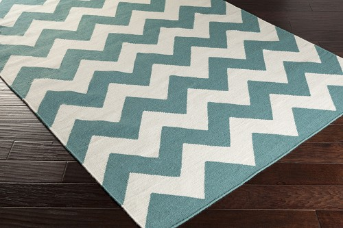Artistic Weavers York Pheobe AWHD1042 Teal/White Area Rug