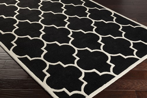 Artistic Weavers Transit Piper AWHE2013 Black/White Area Rug