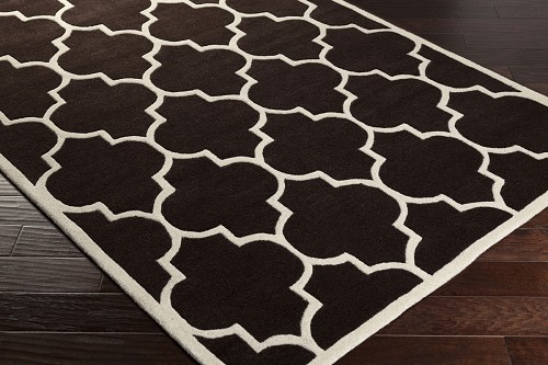Artistic Weavers Transit Piper AWHE2014 Brown/White Area Rug
