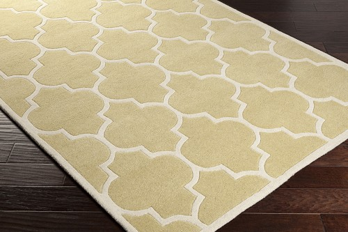 Artistic Weavers Transit Piper AWHE2019 Gold/White Area Rug