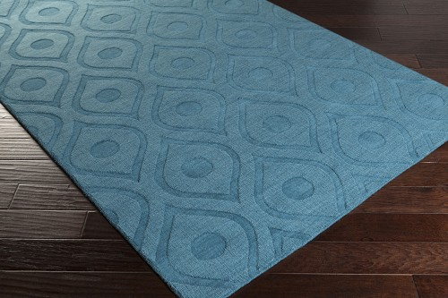 Artistic Weavers Central Park Zara AWHP4004 Teal Area Rug